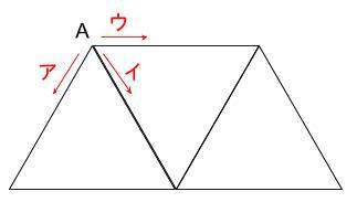 公務員数的処理KOMAROコマロ 一筆書き 問題 図1