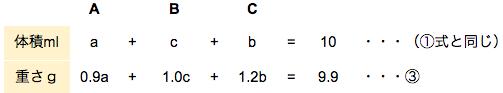 公務員数的処理KOMAROコマロ 平均と濃度 平均 問題3 図