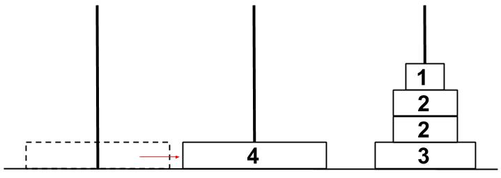 公務員数的処理KOMAROコマロ 注目問題 ハノイの塔 問題 図6