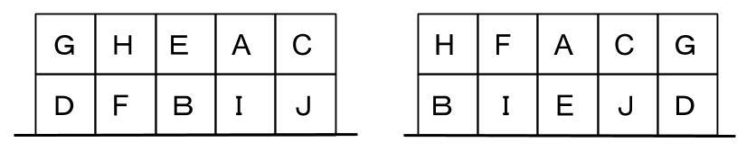 公務員数的処理KOMAROコマロ 判断推理 位置  問題2 図5